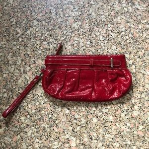 Coldwater Creek Red Wristlet